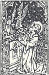Querubins sobre a Arca da Aliança (cf. Êxodo 25, 18)
