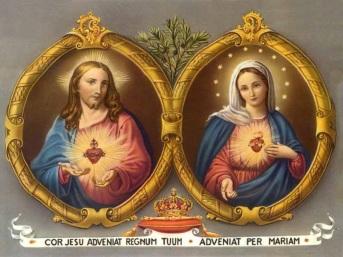 Sagrado Coração de Jesus, nós temos confiança em Vós! Imaculado Coração de Maria, sede à nossa salvação!