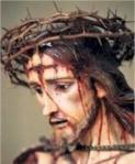 Jesus coroado de espinhos